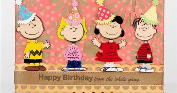 Happy Birthday Peanuts Gang Class Clip Art