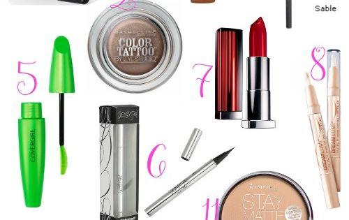 Drugstore Starter Kit - Beauty 101 Blog *Finally! A REAL drugstore makeup