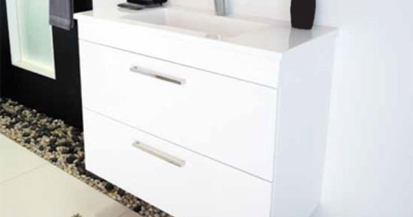 Adp Alpine 600mm Wall Hung 2 Drawer Vanity 945 00 From