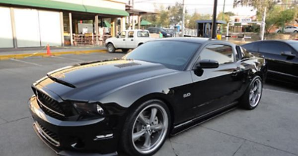 Mustang Gt500 Front End Conversion With Black Mamba Hood Unpainted 10 12 Gt V6 Mustang Ford Mustang Car Gto Car