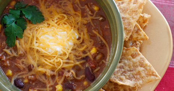 Lunch Recipes turkey taco soup 1 1/3 pounds 99 percent lean ground