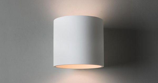 Astro Brenta 175 Wandleuchte Aus Gips 1195003 Wandleuchte Wandbeleuchtung Beleuchtung Wohnzimmer