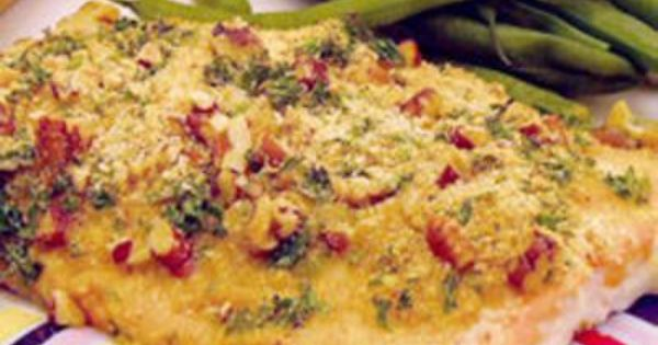 Baked Dijon Salmon - Allrecipes.com - this has been one of my