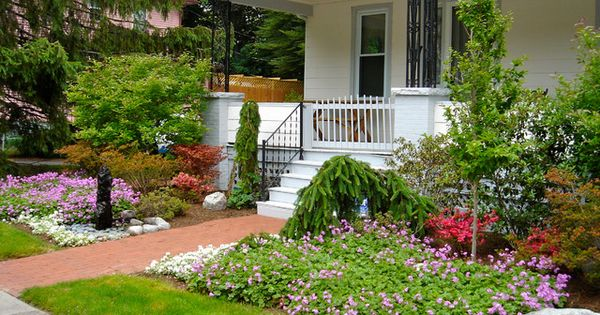 Small front yard landscaping and garden ideas for Townhouse landscaping ideas for front yard