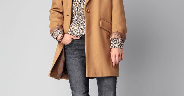 Manteau de chameau vintage
