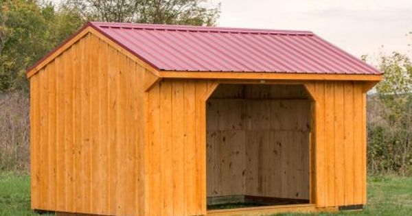 10x12 Run In Shed Run In Shed Shed Horse Barns