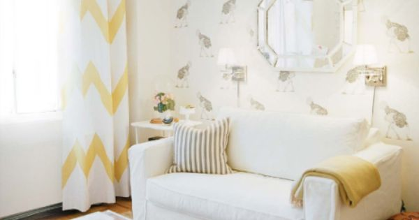 Love the wide chevron stripe - it's less busy than most