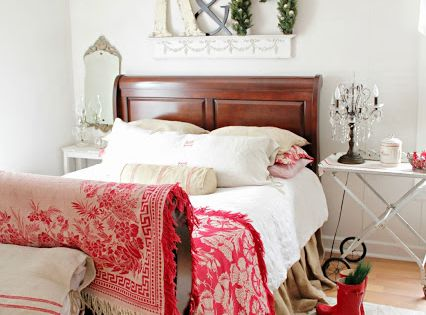 gorgeous bedroom christmas decorations amy jean hinge