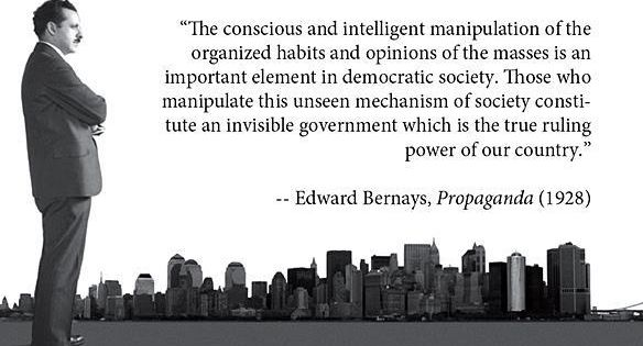 "edward bernays the father of public It is they who pull the wires which control the public mind"" ― edward l bernays, propaganda  if we want to change the world that edward bernays, among ."