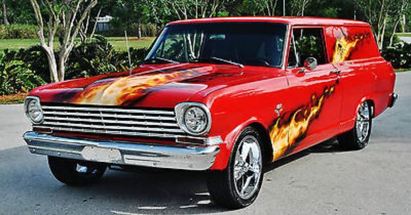 Very Rare Sedan Delivery 1964 Chevrolet Nova Wagon 327 4 Speed 1