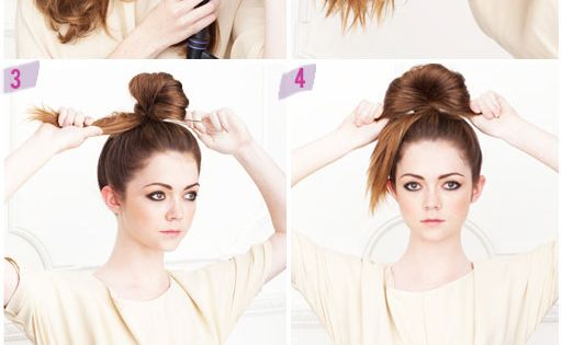 The Fun Bun! Tutorial on the perfect head-topping bun. // Long Hair