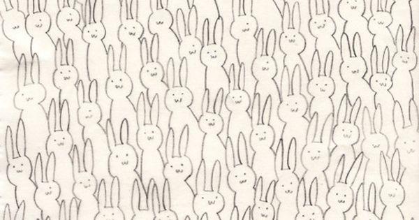 Doodle: rabbits