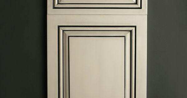 Best Satin White With Black Glaze Cabinets Pinterest 400 x 300