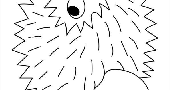 Hedgehog Idea To Go With Book Apple Trouble Hedgehog