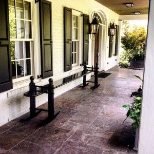 Individually Handcrafted Classically Designed Joggling Board Beaufort House Traditional