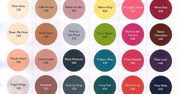 Sally Hansen Color Chart  Makeup Hair Tips  Pinterest  Sally Hansen