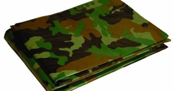 Dry Top 410129 10 By 12 Foot Full Finish Size Tarp 5 Millimeter 2 9 Ounce Green Camouflage By Dry Top 15 21 From Th Tarps Camouflage Sliding Screen Doors