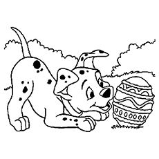 Top 10 Free Printable Disney Easter Coloring Pages Online Disney Coloring Pages Easter Coloring Pages Dog Coloring Page