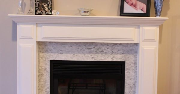 Tile over brick fireplace before and after google search - Tile over brick fireplace ...