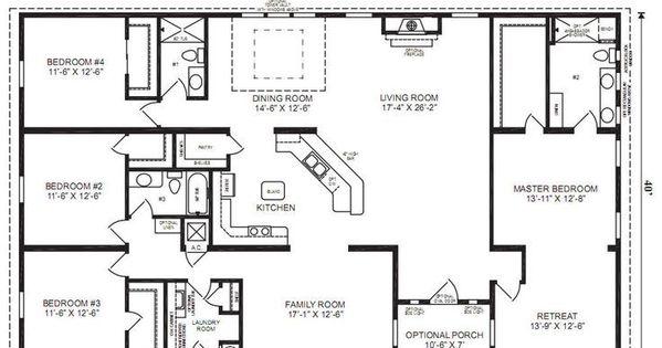 60x40 rectangle house plans joy studio design gallery for 60x40 floor plans