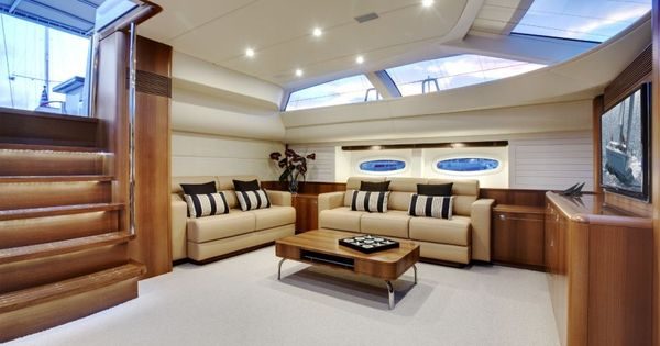 Yacht interior photos view large version of image py for Yacht interior design decoration