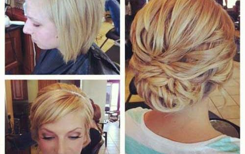 Top 20 Fabulous Updo Wedding Hairstyles: 20 Best Short Wedding Hairstyles That Make You Say Short