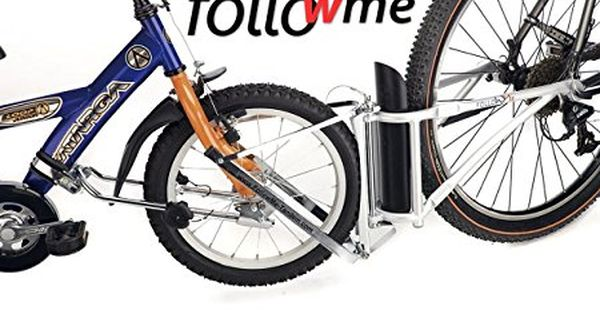 Amazon Com Followme Tandem Parent Child Bicycle Coupling Bundle Sports Outdoors Kids Bicycle Bicycle Child Bike Trailer