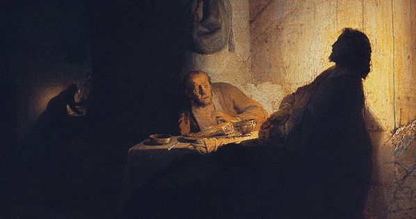 the supper at emmaus by rembrandt i like the contrast in the work a lot portrait pinterest. Black Bedroom Furniture Sets. Home Design Ideas