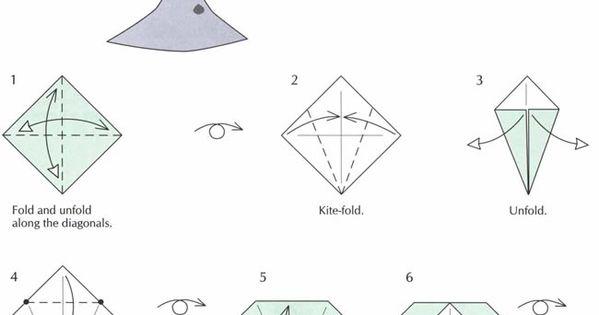 Origami Pteranodon Theme Dinosaurs Dinosaur