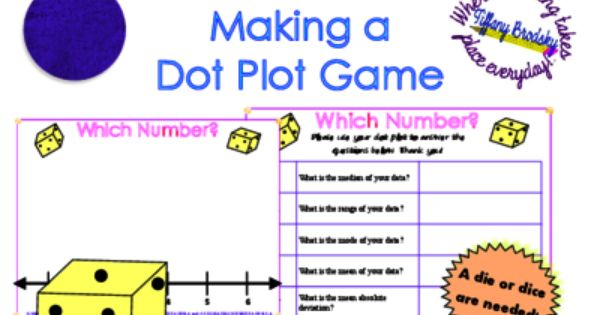 Worksheets Dot Plot Worksheet 1000 images about probability and graphs on pinterest math dot plot graphing worksheet activity or game from tiffany brodsky teachersnotebook