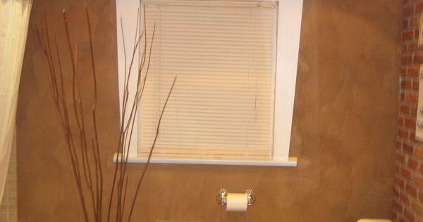 Paper Bag Wall Decor : Paper bag wall bathroom decor