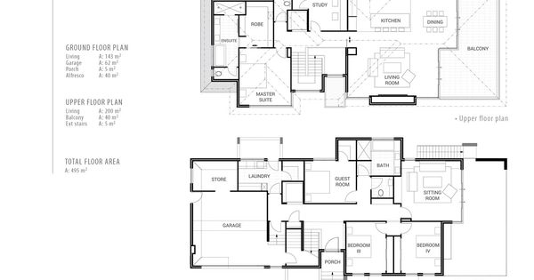 Reverse living house plans house and home design Reverse living home plans