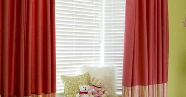 Oakville Children Bedroom Window Seat Drapery Panels