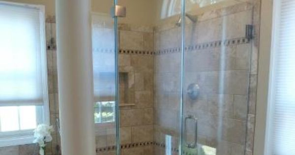 Frameless Shower Door Enclosure 1 2 Crystal Clear Glass
