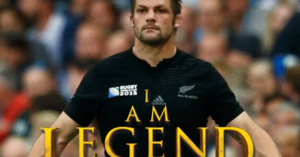 All Blacks Rugby Captain Richie Mccaw I Am Legend Poster Created By Gordon Tunstall Using Adobe Photoshop All Blacks Rugby Team All Blacks Rugby Rugby Memes