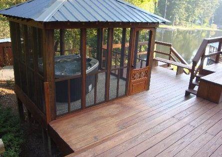home mon sep 11 - Hot Tub Enclosures