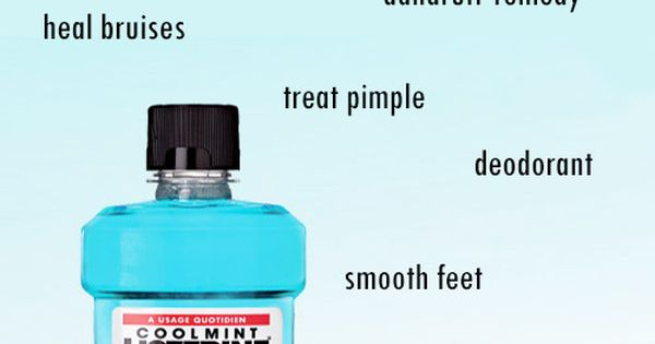 25 unique and amazing uses for a mouthwash mouthwash and listerine - Unusual uses for mouthwash ...