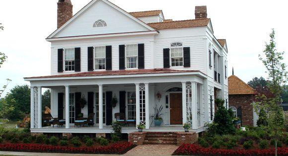 What A Beauty Southern House Plans Unique House Plans Porch House Plans