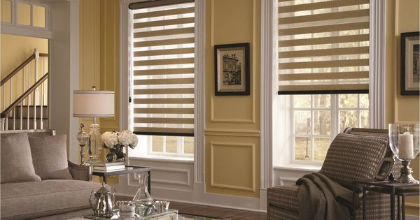 Yellow Window Shades Allure Transitional Shadings By
