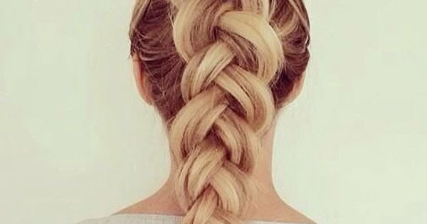 The Dutch braid is one of my favorites. It is very similar