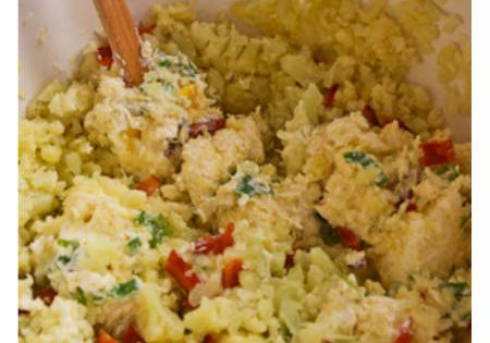 Twice-Baked Cauliflower
