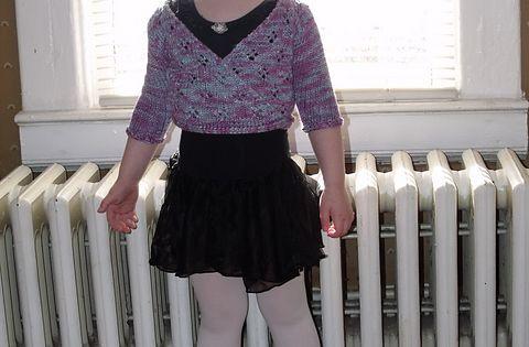 Free Crochet Pattern Ballet Wrap : Ravelry: Toddler Ballet Wrap pattern by Eileen Casey ...