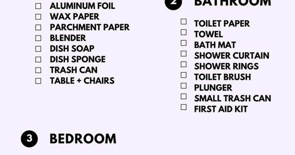 College Dorm Cleaning Supplies