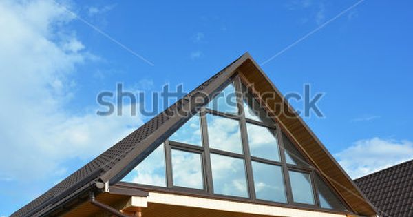 Building House Attic Conservatory Terrace On The Home Roof Conservatory Or Greenhouse Roofing House Terrace Building