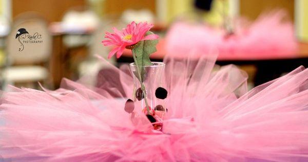 Tutu Centerpiece Sugar Plum Tea Pinterest