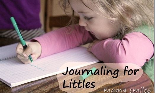 Journaling for Littles « mama smiles