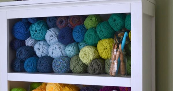 Making A Home Yarn / Wool Storage Solution ...
