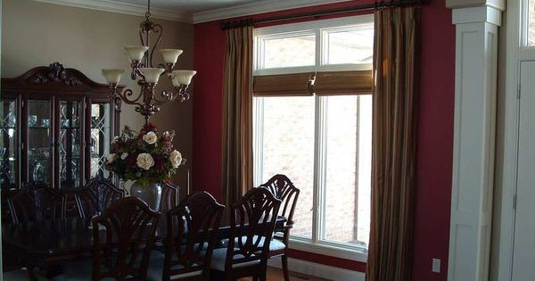 Window Treatment For The Dining Room Home