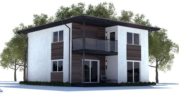 Affordable Home Design With Three Bedrooms Open Planning