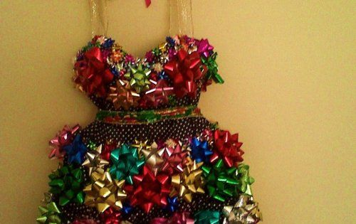 Tacky Christmas Party Dress! So much better than an ugly sweater!....I should